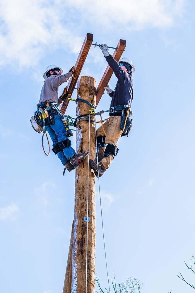 ILP line construction